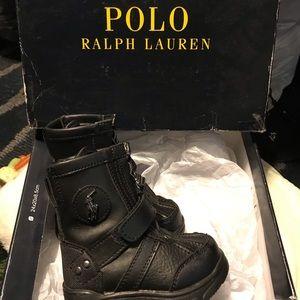 Polo Conquered Hi (4) Black